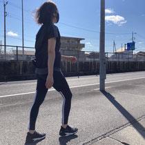 普段あまり歩かないのですが、今回のイベントがきっかけで歩くのも楽しいと思いました。 末木由加里様