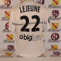 Maillot Porté par LEJEUNE Saison 2012/2013