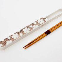 "*Chopstick-Set ""Sakura wood grain"""