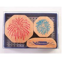 """* Stamp Set """"Hanabi"""" - Fireworks -"""