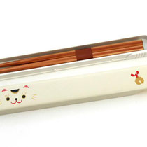 "*Chopstick-Set ""Lucky cat"""