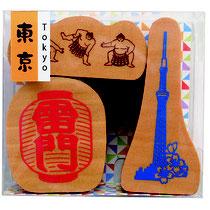 "* Stamp Set ""Tokyo"""