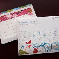 卓上カレンダー2012:menicon