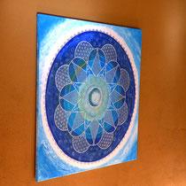 SternenTraum Mandala/ 100cm x 100cm / 999 Euro