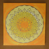 Heiles Kind Mandala / 70cm x 70cm / 333 Euro