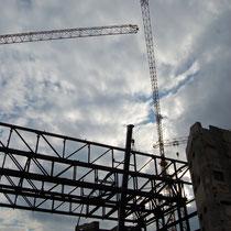 Asbestverseucht, abbau vom Regierungsgebäude der ex-DDR