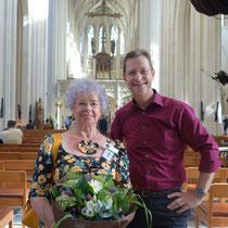 Met stadsgids Lucie tijdens Open Monumenten Dag