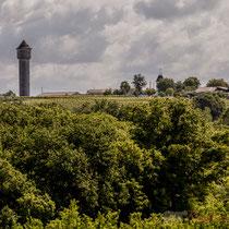 Des lignes de crête des collines  au creux des vallons, Haux... (Gironde, Aquitaine)