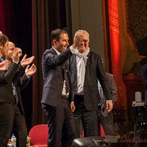 Et retour de Benoît Hamon à son public. Théâtre Fémina, Bordeaux #benoithamon2017