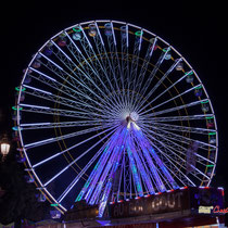 5 La grande roue de la Foire aux plaisirs. Bordeaux, mercredi 17 octobre 2018