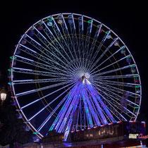 5 La grande roue de la Foire aux plaisirs. Bordeaux, mercredi 17 octobre 2018. Reproduction interdite - Tous droits réservés © Christian Coulais