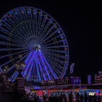 3 La grande roue de la Foire aux plaisirs. Bordeaux, mercredi 17 octobre 2018