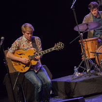 7 Thomas Gaucher, guitariste, quartet Capucine. Tremplin Action Jazz 2017. Le Rocher de Palmer, Cenon