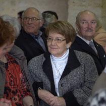 Membres d'associations...Suzette Grel, Chevalière de l'Ordre national du Mérite, Le Pout, Gironde