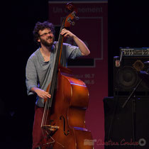6 Louis Laville du quartet Capucine. Tremplin Action Jazz 2017. Le Rocher de Palmer, Cenon