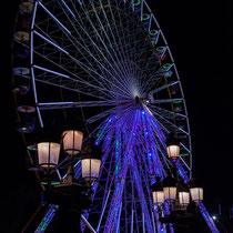 2 La grande roue de la Foire aux plaisirs. Bordeaux, mercredi 17 octobre 2018