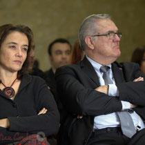 Mathilde Feld, Jean-Marie Darmian. Remise de l'Ordre national du Mérite à Suzette Grel. Le Pout. 7 février 2015