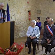Discours de Philippe Madrelle, Président du Conseil général de la Gironde, pour la remise à Suzette Grel de la médaille du Département