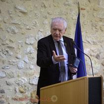 Philippe Madrelle, Président du Conseil général de la Gironde, Sénateur de la Gironde. 7 février 2015, Le Pout