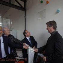 Marc Avinen, Philippe Madrelle, Michel Delpuech, Jean-Jacques Ronzié, La Source, Pôle culturel et social, Sallebœuf