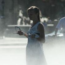"""Princesse russe en attente de son prince charmant, effet brouillard miroir d'eau ?"""" 1 Bordeaux. Reproduction interdite - Tous droits réservés © Christian Coulais"""