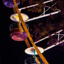 1 La grande roue de la Foire aux plaisirs. Bordeaux, mercredi 17 octobre 2018. Reproduction interdite - Tous droits réservés © Christian Coulais