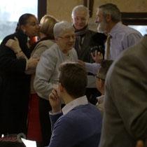 Amis, anciens élu-es, famille...Suzette Grel, Chevalière de l'Ordre national du Mérite, Le Pout, Gironde