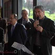 Jean-Jacques Ronzié, Président du C.A. de la Caisse d'Allocations Familiales, La Source, Sallebœuf