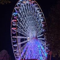 16 La grande roue de la Foire aux plaisirs. Bordeaux, mercredi 17 octobre 2018. Reproduction interdite - Tous droits réservés © Christian Coulais