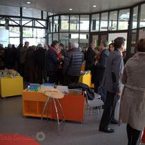Inauguration de La Source, pôle culturel et social de Sallebœuf