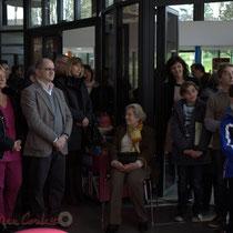 Inauguration de La Source, Sallebœuf en présence de Christian Soubie, Maire de Tresses