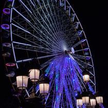 4 La grande roue de la Foire aux plaisirs. Bordeaux, mercredi 17 octobre 2018