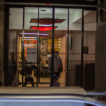 Intérieur hall/gare. Restauration rapide, Gare Saint-Jean, Bordeaux