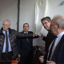 Philippe Madrelle, Michel Delpuech, Jean-Jacques Ronzié, Marc Avinen, La Source, Pôle culturel et social, Sallebœuf