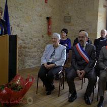 Remise de l'Ordre national du Mérite à Suzette Grel. Le Pout. 7 février 2015