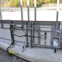 TAT Torautomatik Team AG, Eisfeld Bandentor, Bern