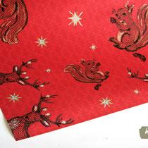 Geschenkpapier Weihnachten rot
