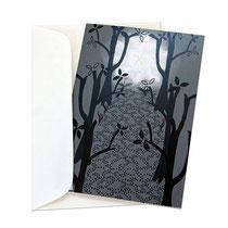 Trauerkarte mit Umschlag