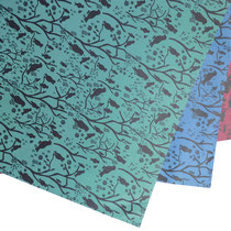 Geschenkpapier Set Vögel 70 x 100 cm