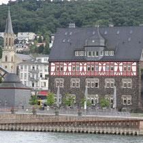 Altes Zollhaus am Hafen an der Uferpromenade