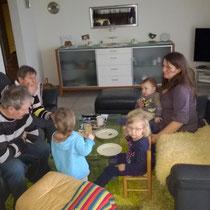 Besuch bei Grosi und Grospi Wilchingen.