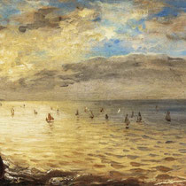 The Sea from the Heights of Dieppe (1852)