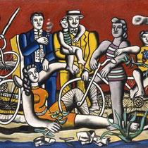 Les loisirs sur fond rouge (1949)