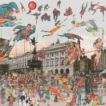 London Piccadilly Circus – The Convention of Comic Book Characters