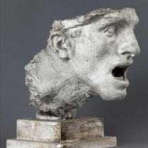 Etude de tête avec socle pour le monument de montauban (1893-1897)