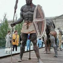 Le Guerrier Massaï Debout (1989)