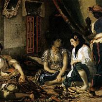 Femmes d'Alger dans leur appartement (1834)