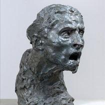 Etude de tête de guerrier bourdelle (1893-1902)