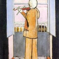 Le Violoniste à la Fenêtre (1917-18)