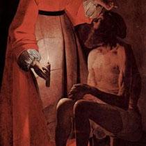 Job raillé par sa femme (1625-1650)